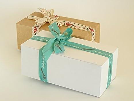 Paquete de Dos Cajas De Regalo Pequeña, Apto para Chocolates, Dulce de Leche, Joyería, Pequeños Regalos etc. #A: Amazon.es: Oficina y papelería