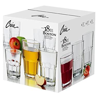 18PC Boston Bev Set
