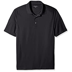 Amazon Essentials Mens Regular-Fit Quick Dry Golf Polo Cleaning Shirt