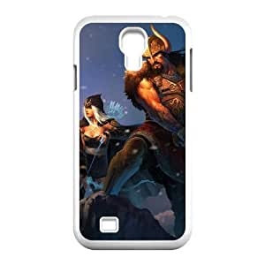 Samsung Galaxy S4 9500 White phone case Tryndamere league of legends LOL2056234