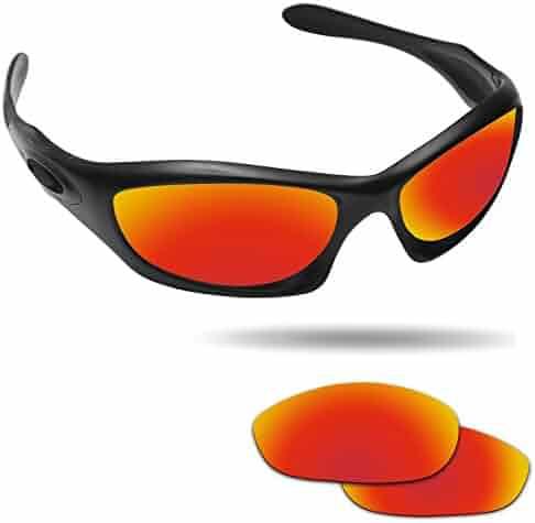3d3fd6cea1 Fiskr Anti-saltwater Polarized Replacement Lenses for Oakley Monster Dog  Sunglasses