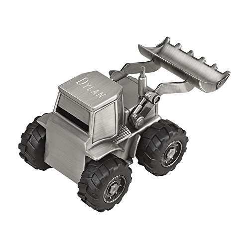 (Creative Gifts Front Loader Bank, Pewter Finish. )