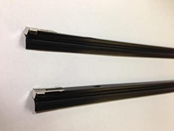SET OF 3 QUALITY REPLACMENT RUBBER REFILLS FOR FRONT /& BACK WIPER BLADES