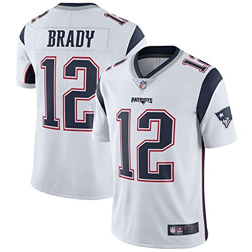 #12 Tom Brady New England Patriots Vapor Untouchable Limited Player Jersey - White XL