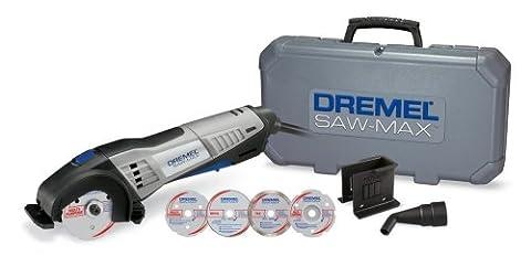 Dremel Saw-Max Kit 6.0 Amp 17000 Rpm (Dremel Drill Bit Adapter)