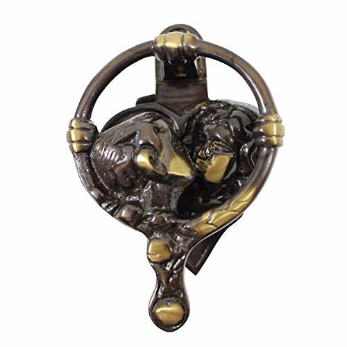 Door Knockers Antique Brass Kissing Cherubs Door Knocker 4 3/4