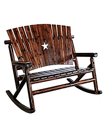 Leigh Country Char Log Double Rocker W/Star