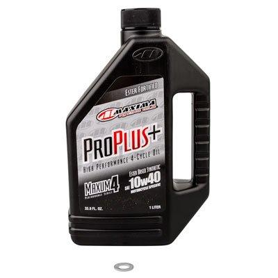 Tusk Transmission Oil Change Kit Maxima Pro Plus Full Synthetic 10W-40 - Fits: KTM 85 XC 2008-2009