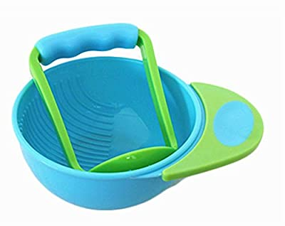 Creative Baby Food Grinding Bowl Practical PP Food Mill for Making Baby Food by Black Temptation that we recomend individually.