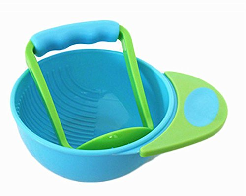 Creative Baby Food Grinding Bowl Practical PP Food Mill for Making Baby Food