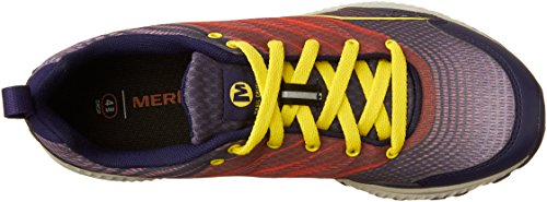 Femme Aleutian Merrell de Bleu Trail Chaussures Crusher Multicolore xzPnqzI
