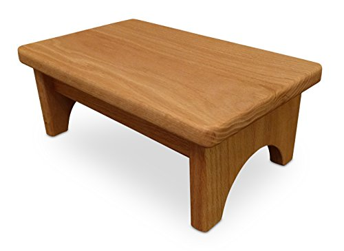 HollandCraft – The Perfect Wood Step Stool – Handcrafted – Made in USA – Hidden Wood Dowels (No Screws, Staples or Nails)