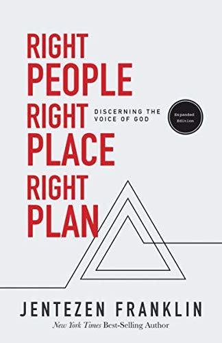 (RIGHT PEOPLE RIGHT PLACE RIGHT PLAN - Discerning the voice of GOD, expanded)