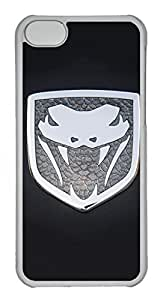 iPhone 5C Case, iPhone 5C Cases - Anti-Scratch Crystal Clear Back Bumper for iPhone 5C Dodge Viper Car Logo 8 Shock-Absorption Hard Case for iPhone 5C by icecream design