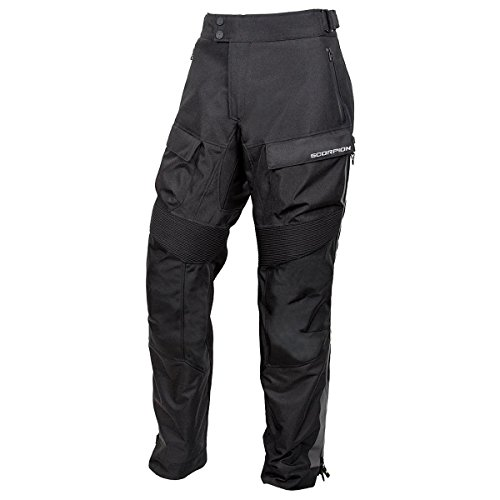 ScorpionExo Seattle WP Men's Textile Motorcycle Over-Pants (Black, Medium) (Overpants Touring)