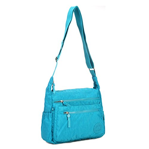 Girls Foino Side Bag Sport Crossbody Shoulder Bag Messenger Bag Cross Bookbag 2 Pack Fashion Travel Casual Body Women for Satchel Blue Bag wUqwrxXv4f