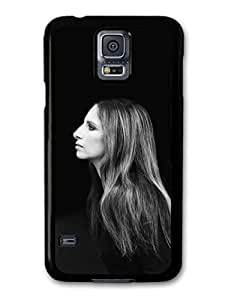 Kingsface AMAF ?? Accessories Barbra Streisand Black and White Profile lACNmlbrUx7 Portrait case cover for Samsung Galaxy S5