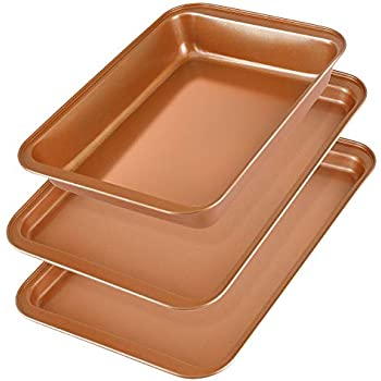 Amazon Com Copper Chef Cookie Sheet 12x17 Kitchen Amp Dining