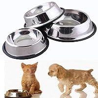 Cuencos Antideslizantes-plato Gatos De Acero Inoxi Popular Brand Zubita Comederos Para Gatos Dishes, Feeders & Fountains