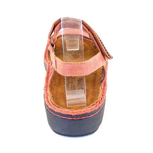 Naot - Sandalias de vestir de Piel Lisa para mujer marrón marrón rojizo