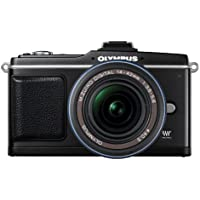 Olympus E-P2 12.3 MP Micro Four Thirds Interchangeable Lens Digital Camera with 14-42mm f/3.5-5.6 Zuiko Digital Zoom Lens (Electronic View Finder not included) Basic Facts Review Image