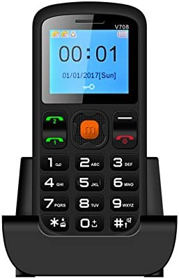 Digital Tec Big Button Easy to Use Senior Citizen Mobile Phone for The Elderly: Amazon.es: Electrónica