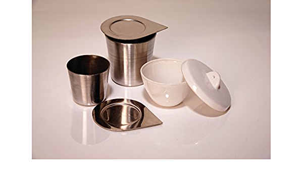 United Scientific Supplies JCT030 Crucible Tall Form 30 ml PK//6