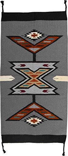 El Paso Designs Hand Woven Southwest Accent Rug, 20'' X 40'' (HA40213) by El Paso Designs