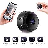 WiFi Surveillance Camera - Mini Hidden Spy Nanny Cam - Copcam for Indoor