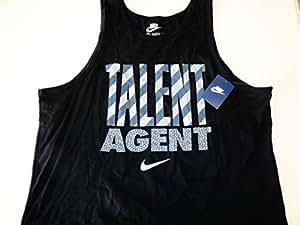 Nike Talent Agent Tank Black Xl