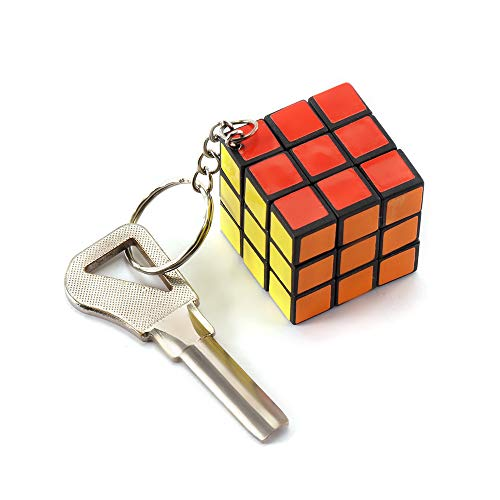 Mini Magic Rubik Cube Keychian for Kids,Friend,Family Gift with Gift Box