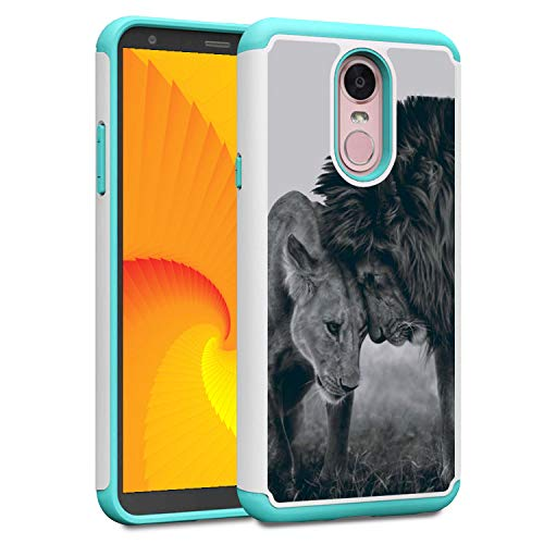 - LG Stylo 4 Case, LG Q Stylus Case, LG Stylo 4 Plus,Skyfree Heavy Duty Dual Layer Bumper Protective Phone Case for LG Stylus 4,Lion and Lioness Lovers