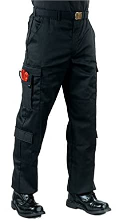 Black EMT Pants With 9 Pockets (Large)