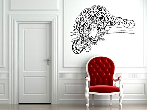 Vinyl Sticker Cheetah Panther Tiger Lion Cat Kitty Animal Paws Predator Jungle Zoo Kids Room Mural Decal Wall Art Decor SA2063