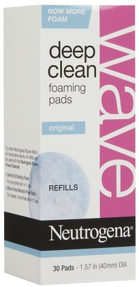 Foaming Pad (Neutrogena Wave Deep Clean Foaming Pads Refills, 30 ct (Quantity of)