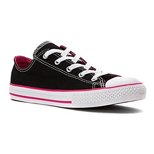 408223220d2 Converse Chuck Taylor All Star Double Tongue OX Low Top Black/Vivid, Pink/