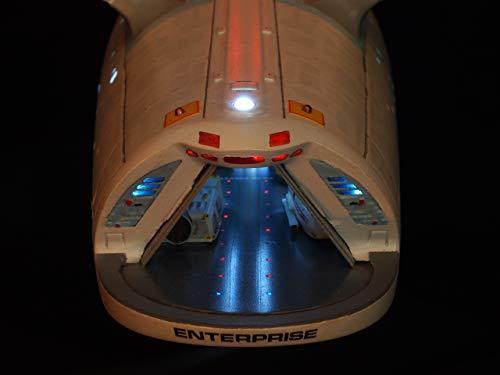 Landing Bay Sequential Runway/Landing Lights Kit for Polar Lights Star Trek USS Enterprise NCC-1701 Refit Model