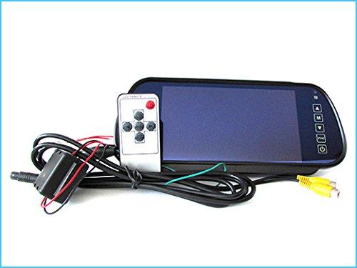 Monitor specchio retrovisore tft lcd 7 0 doppio ingresso video per