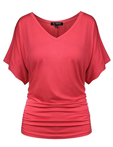 coral tops for women - 8