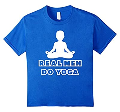 Real Men Do Yoga Shirt - Funny Yoga Shirt