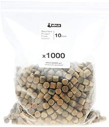 NOVLEK Boite de 100 Bouchons Bois Mélèze