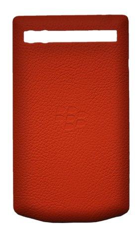 درب جلدی باتری چرمی Porsche Design Salsa Red for P9983 طراحی پورشه BlackBerry P'9983