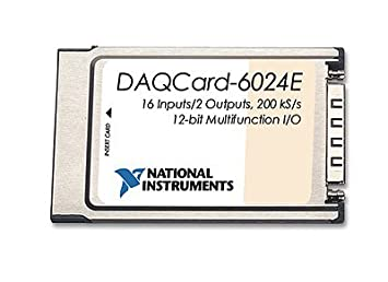 Amazon.com: National Instruments NI DAQCard-6024E PCMCIA ...