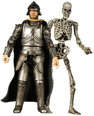 Army of Darkness T & S Online Exclusive Knight & Deadite Skeleton Figure 2-Pack with Accessories by Palisades Toys B01A9MOD3I
