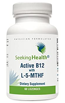 Active B12 Lozenge With L-5-MTHF   60 Lozenges   Physician Formulated   Seeking Health