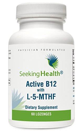 Active B12 Lozenge With L-5-MTHF | 60 Lozenges | Physician Formulated | Seeking Health 41Kmw7CDYoL