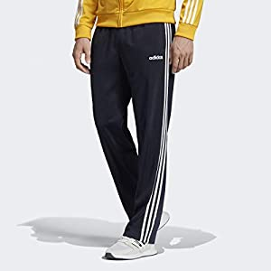adidas Mens Essentials 3-Stripes Open Hem Tricot Pant