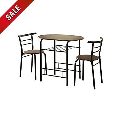 Bistro Table Set Indoor 3 Piece Kitchen Metal Bistro Chair Set Counter  Height Bistro Dining Set