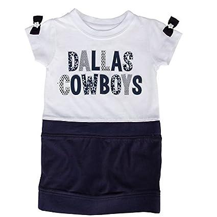 timeless design 536a5 ca70e Amazon.com : Dallas Cowboys Toddler Ivy Dress : Clothing