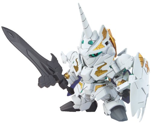 Bandai Hobby BB#385 Knight Unicorn Gundam Bandai SD Action Figure ()